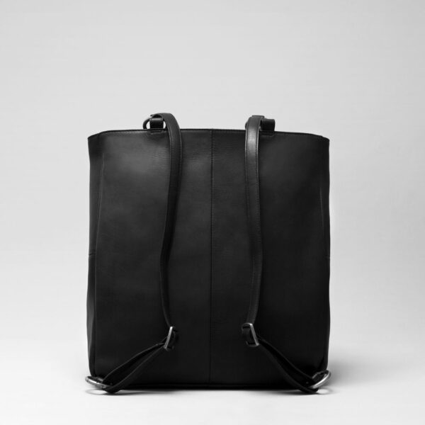 Back Shopper Waxy Black