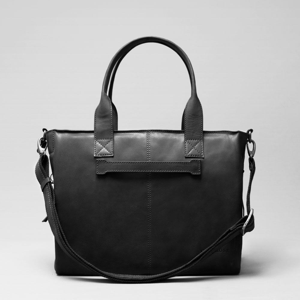 City Bag Waxy Black