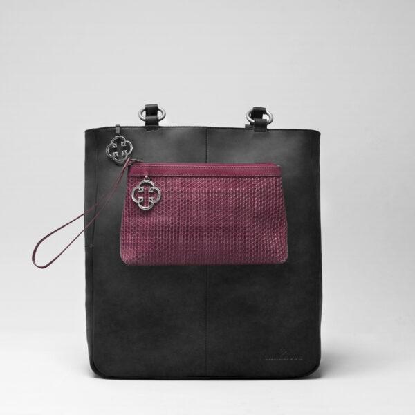 chalrose-clutch-bordeaux-back-shopper-black-matt