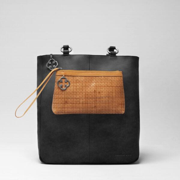 chalrose-clutch-tan-back-shopper-black-matt