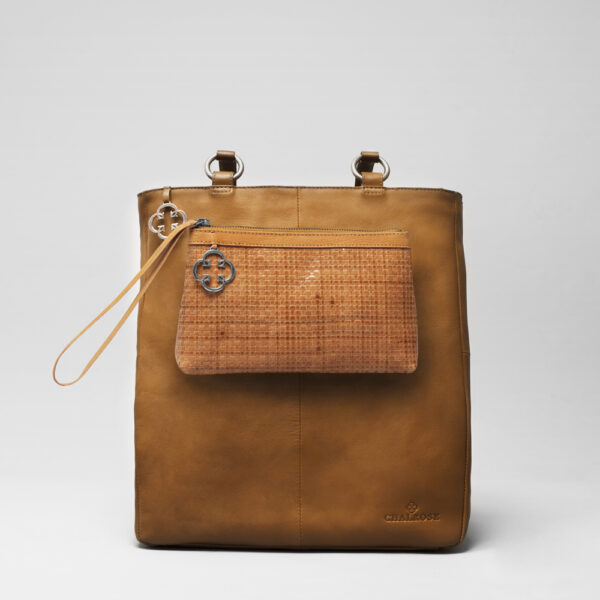 chalrose-clutch-tan-back-shopper-camel