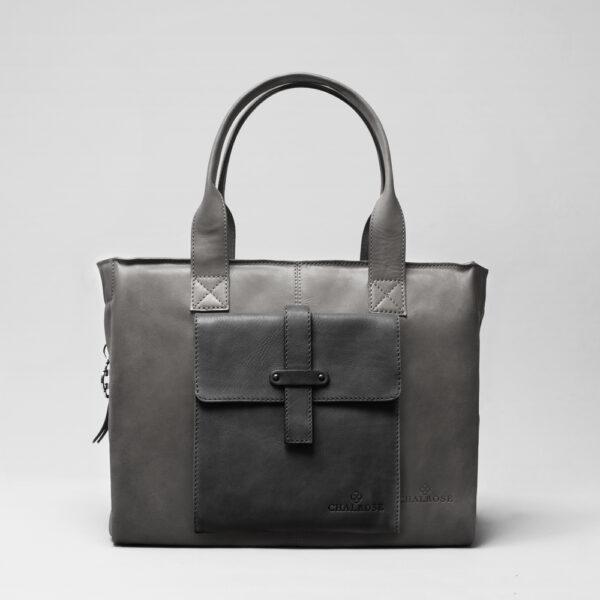 chalrose-crossbody-black-matt-city-bag-dark-grey