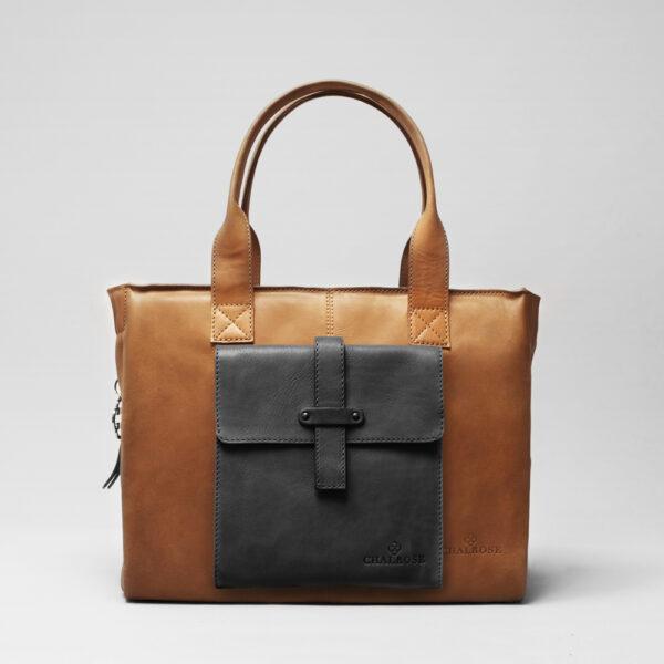 chalrose-crossbody-black-matt-city-bag-tan