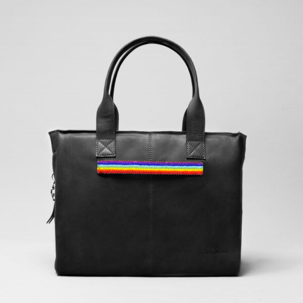 Pride Strap-City Back Waxy Black