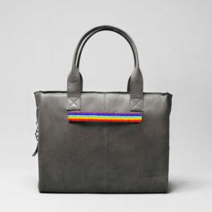 Pride Strap-City Bag Dark Grey