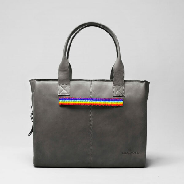 Pride Strap-City Bag Dark Grey