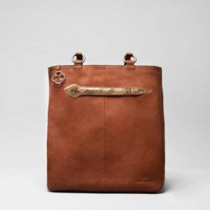 Snake Click - Back Shopper Cognac