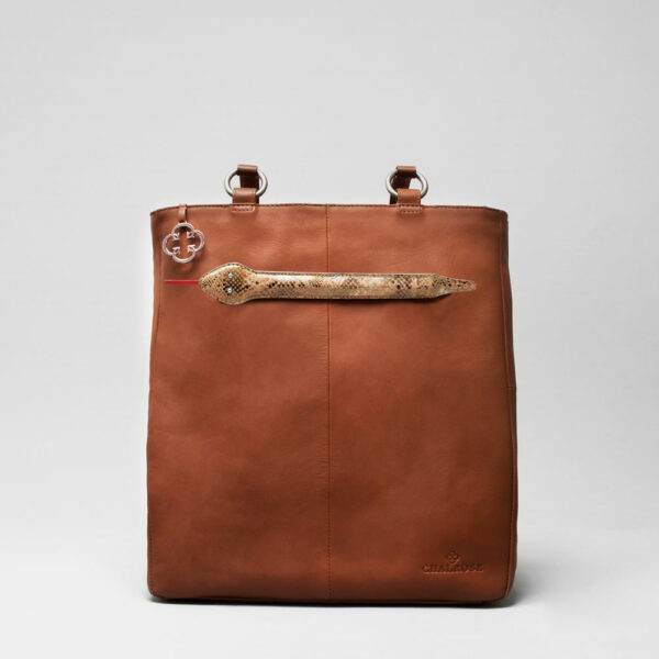 Snake Click - Back Shopper Cognac