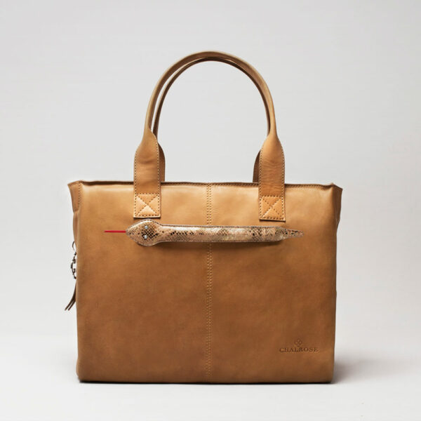 Snake Click-City Bag Camel