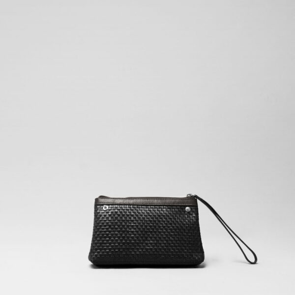Woven Click Pouch Black
