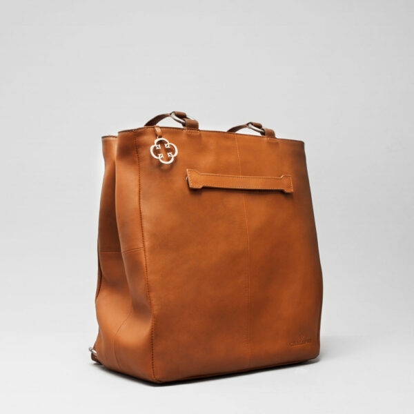 Back Shopper Tan