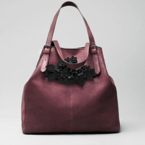 chalrose-click-bouquet-black-matt-doppio-bordeaux