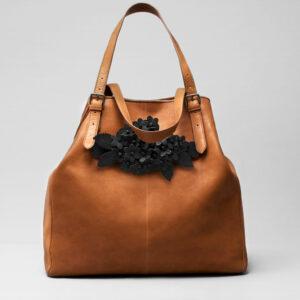 Bouquet Click Black Matt-Doppio Tan