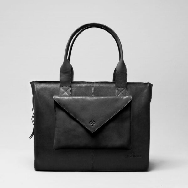 Envelop Clutch Black Matt-City Bag Black Matt