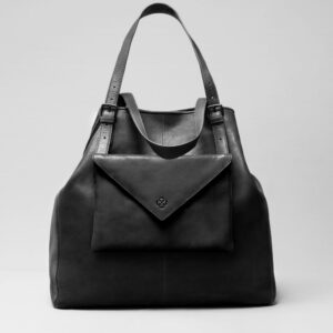 Envelop Clutch Black Matt-Doppio Black Matt