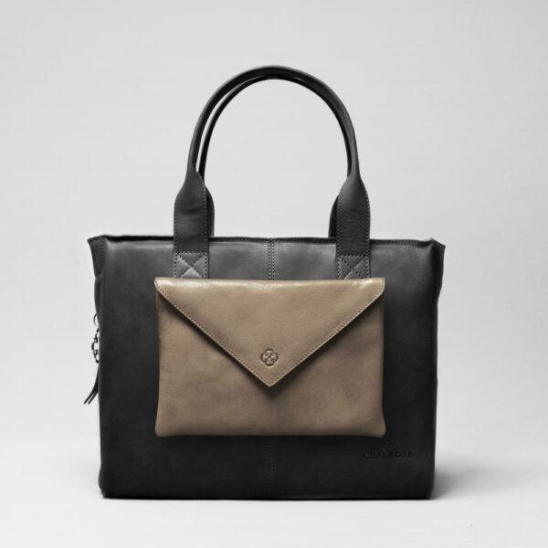 chalrose-envelop-clutch-elephant-grey-city-bag-waxy-black