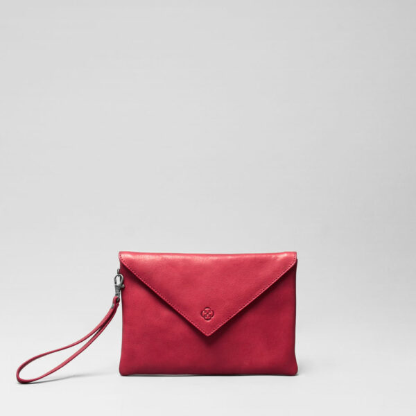 Envelop Clutch Red