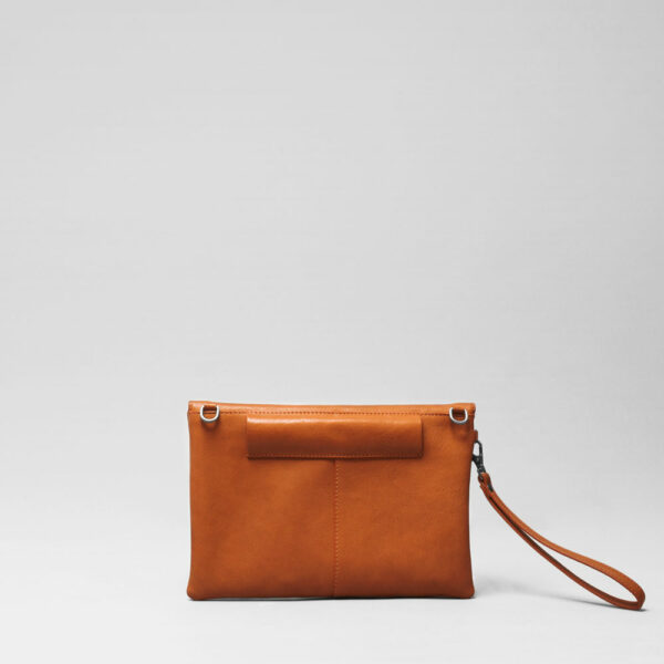 Envelop Clutch Tan