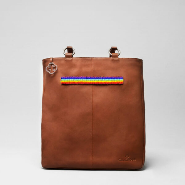 Pride Strap-Back Shopper Cognac