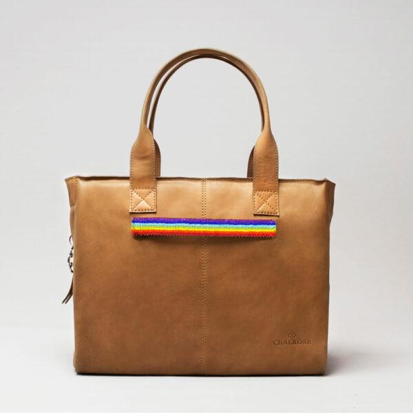 Pride Strap-City Bag Camel