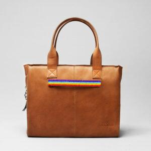 Pride Strap-City Bag Tan