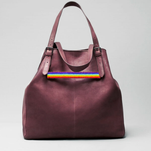 Pride Strap-Doppio Bordeaux