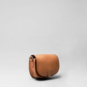 Round Flap Bag Blond