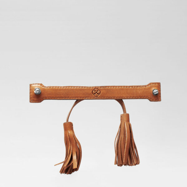 Tassel Bow Tan