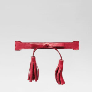 Tassel Bow Red