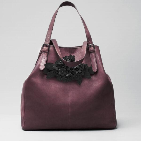 chalrose-bouquet-click-black-matt-doppio-bordeaux