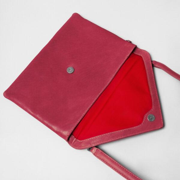 chalrose-envelop-clutch-red