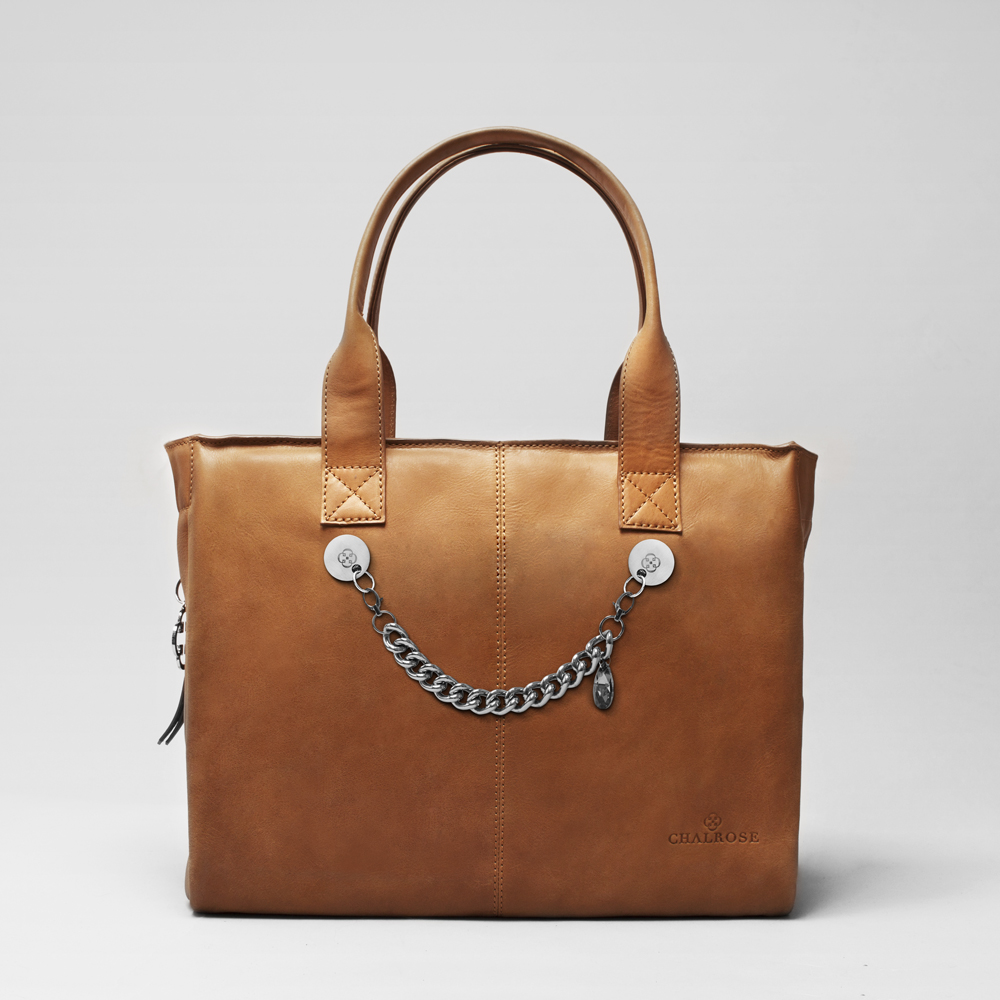 City Bag Cognac