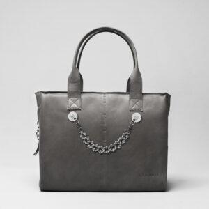 chalrose-city-bag-dark-grey-click-bracelet