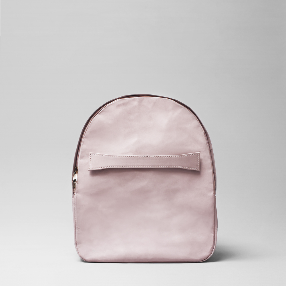 back pack vegan pink