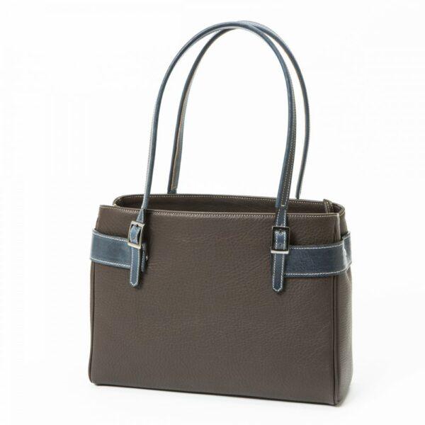 chalrose-medium-bag-dark-brown-hengsel-blue