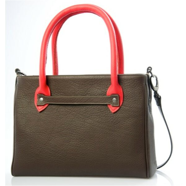 chalrose-medium-bag-dark-brown-hengsel-red