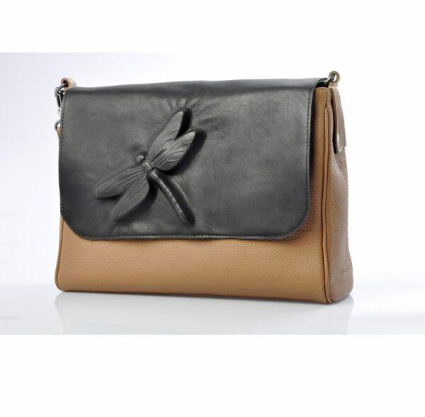 chalrose-medium-bag-beige-flap-dragon