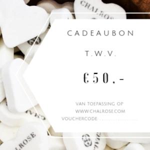 chalrose-cadeaubon-50