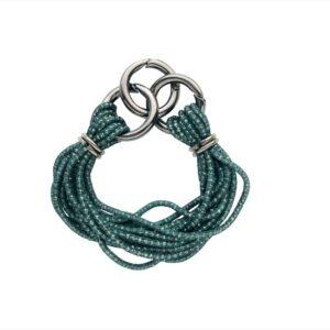 chalrose-bracelet-green groene armband