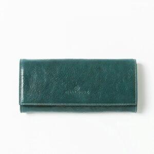 chalrose-clutch-green flap bag green