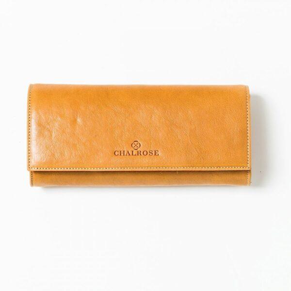 chalrose-clutch-yellow-flap-bag