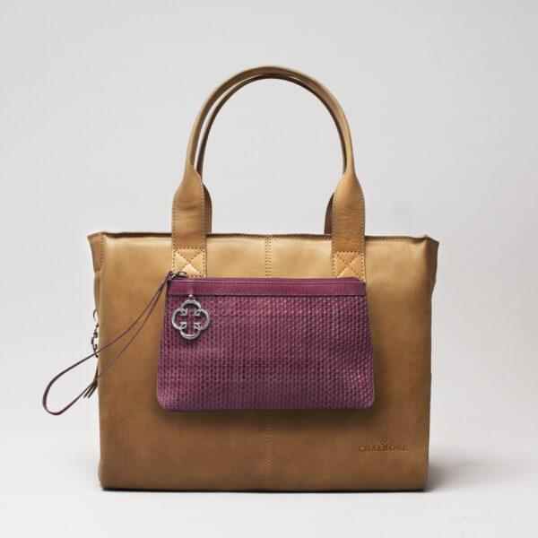 chalrose-clutch-bordeaux-city-bag-camel