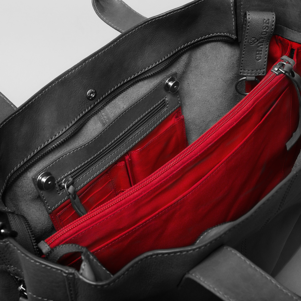 buttons city bag